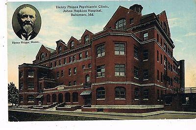 Henry Phipps Psychiatric Clinic, America